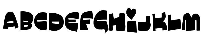 MuchoMacho Font UPPERCASE