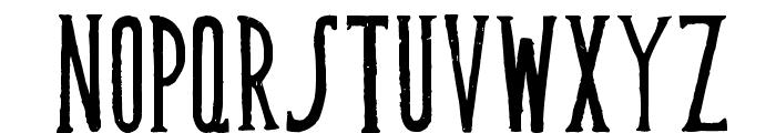 Muffaroo Font UPPERCASE