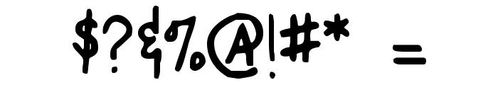 Mugnuts Font OTHER CHARS