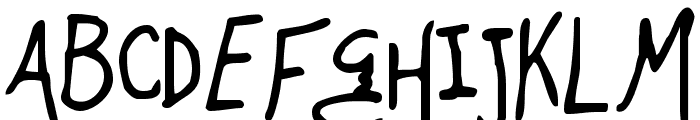 Mugnuts Font UPPERCASE