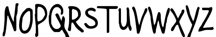 Mugnuts Font LOWERCASE