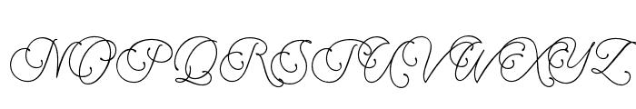 Muhaqu-ScriptPersonalUse Font UPPERCASE