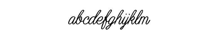 Muhaqu-ScriptPersonalUse Font LOWERCASE