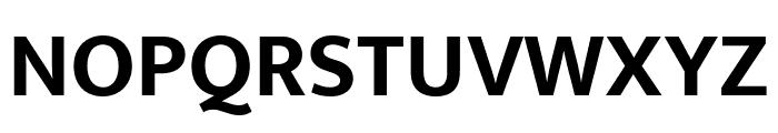 Mukta Bold Font UPPERCASE