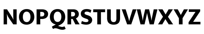 Mukta ExtraBold Font UPPERCASE