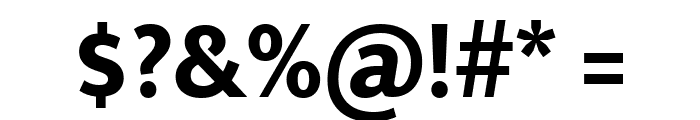Mukta Mahee ExtraBold Font OTHER CHARS