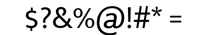 Mukta Mahee Regular Font OTHER CHARS