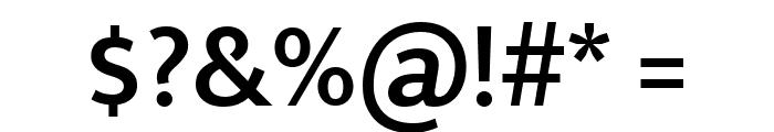Mukta Mahee SemiBold Font OTHER CHARS