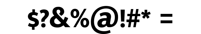 Mukta Malar ExtraBold Font OTHER CHARS
