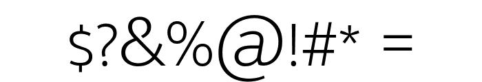 Mukta Malar ExtraLight Font OTHER CHARS