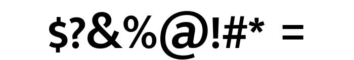 Mukta Malar SemiBold Font OTHER CHARS