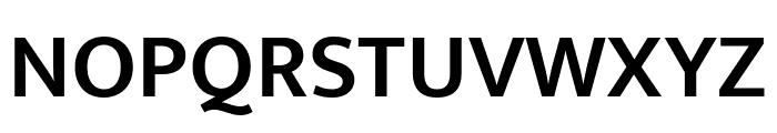 Mukta Malar SemiBold Font UPPERCASE