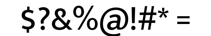 Mukta Medium Font OTHER CHARS
