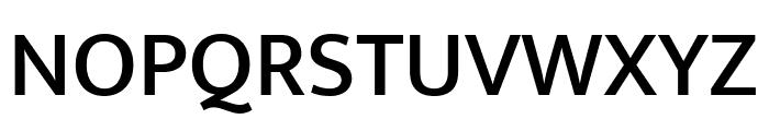 Mukta Medium Font UPPERCASE