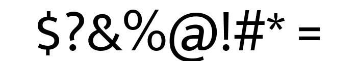Mukta Regular Font OTHER CHARS
