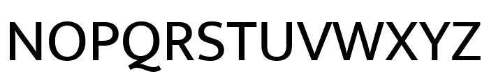 Mukta Regular Font UPPERCASE