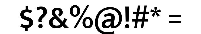 Mukta SemiBold Font OTHER CHARS