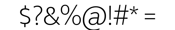 Mukta Vaani ExtraLight Font OTHER CHARS