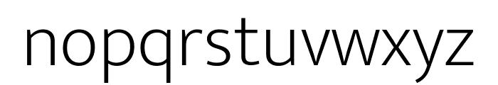 Mukta Vaani ExtraLight Font LOWERCASE