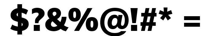 Muli Black Font OTHER CHARS