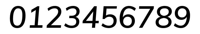 Muli SemiBold Italic Font OTHER CHARS