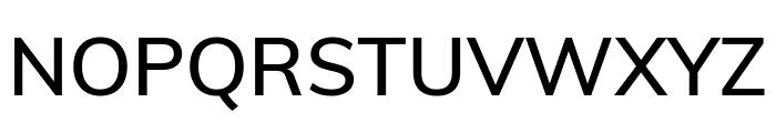 Muli SemiBold Font UPPERCASE