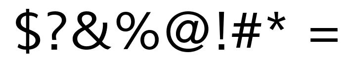Muli Font OTHER CHARS