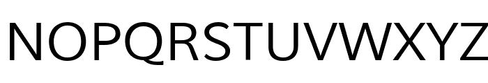 Muli Font UPPERCASE