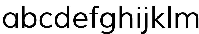 Muli Font LOWERCASE