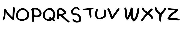 MultiEmily Regular Font UPPERCASE