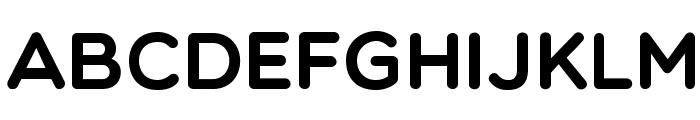 Multicolore Font UPPERCASE