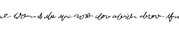MumbleGrumble II BB Font OTHER CHARS