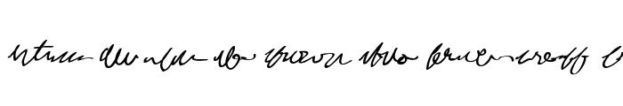 MumbleGrumble II BB Font UPPERCASE
