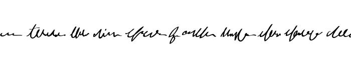 MumbleGrumble II BB Font LOWERCASE