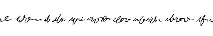 MumbleGrumbleIIBB Font OTHER CHARS