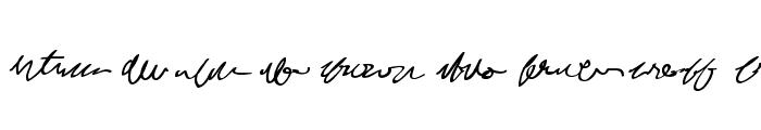 MumbleGrumbleIIBB Font UPPERCASE