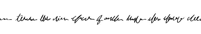 MumbleGrumbleIIBB Font LOWERCASE