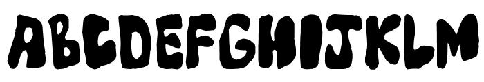 Mump Font UPPERCASE
