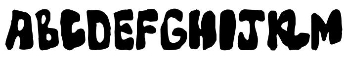 Mump Font LOWERCASE