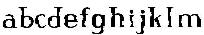 Munch Munch Font LOWERCASE