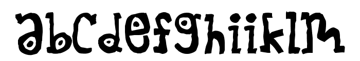 Muncheekin Font LOWERCASE