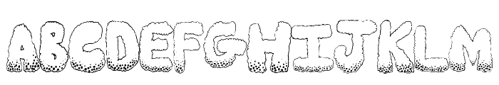 Munchies Font UPPERCASE