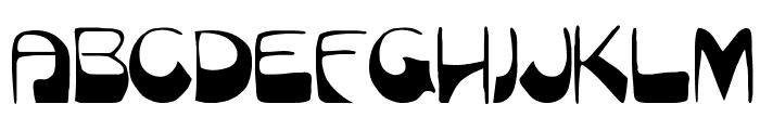 Munich Font UPPERCASE