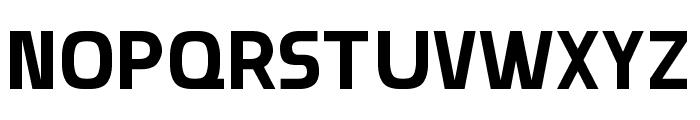 Munistic Font UPPERCASE