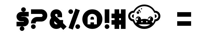 Munkeyshine Font OTHER CHARS