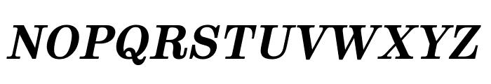 Munson Bold Italic Font UPPERCASE