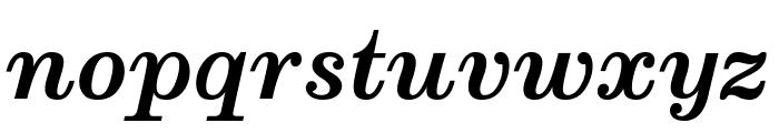 Munson Bold Italic Font LOWERCASE
