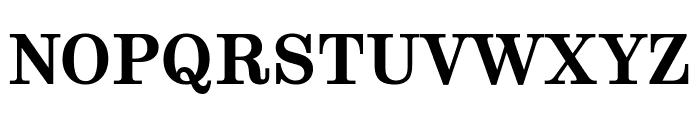 Munson Bold Font UPPERCASE