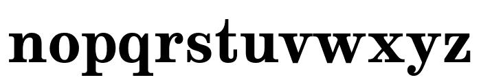 Munson Bold Font LOWERCASE
