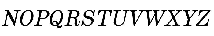 Munson Italic Font UPPERCASE